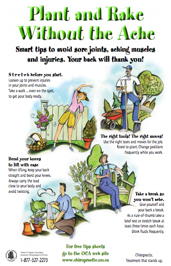 Continue Safe Gardening Habits