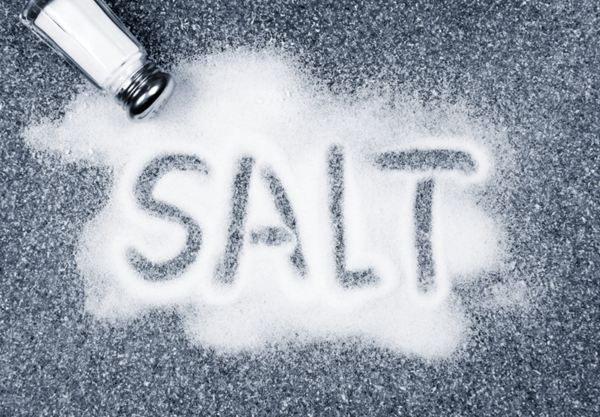 Salt is bad for your blood pressure